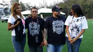MARK CAUDILLO WBA THE VIP BULLY SHOW DIOSES AZULES AIZER LEZAMA