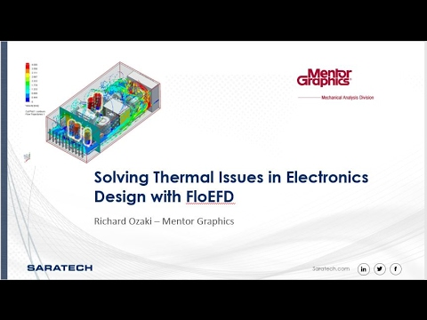 Solving Thermal Issues in Electronics Design with CFD