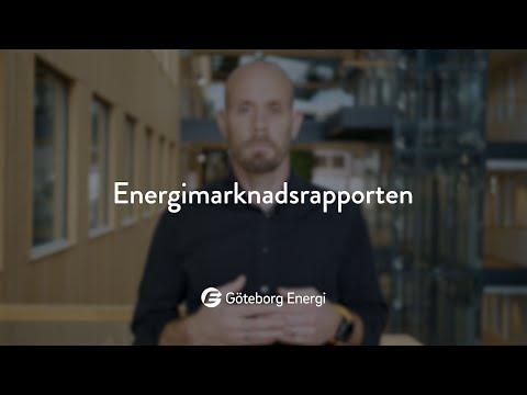 Energimarknadsrapporten, oktober 2020