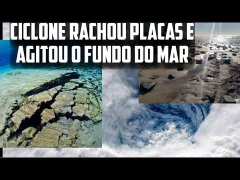 As Placas foram modificadas com o Ciclone do Brasil