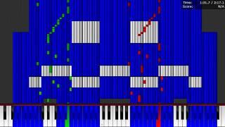 Dark MIDI - PAC-MAN Theme - 500,000 NOTES!!!