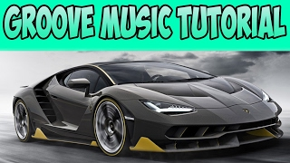 Forza Horizon 3 How To Properly Setup ( Groove Music )