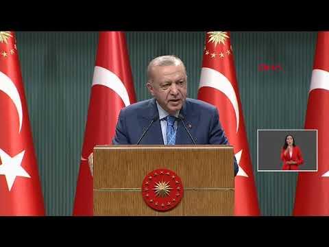 Cumhurbaşkanı Erdoğan'dan Kabine Toplantısı'nın ardından önemli açıklamalar