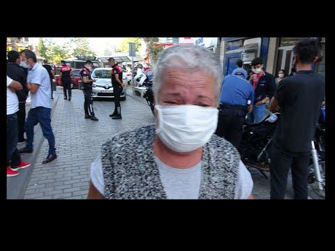 Yaşlı Kadın Maske Takmayanlar İçin Gözyaşlarına Boğuldu