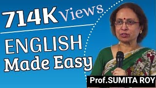 English made easy by Prof Sumita Roy part 1 width=