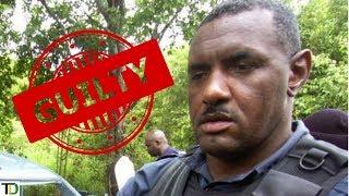 Cop collapses in Court after guilty verdict | Teach Dem