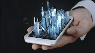World's First Holographic Smartphone Is Coming Late In 2018  :  The Future Is Now !