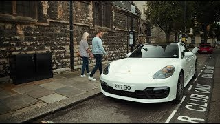 Not your everyday car share: Porsche Panamera 4 E-Hybrid meets Zipcar in London