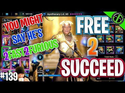 My Apothecary Might Be Getting TOO Fast (2 Furious) | Free 2 Succeed - EPISODE 139