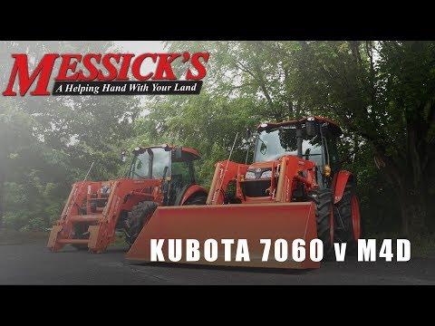 Comparing Kubota's M7060 vs M4D-071 Utility Tractors Picture