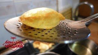 Patatas o papas fritas soufflé
