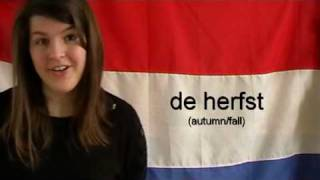 Learn Dutch - Months and Seasons  - YouTube