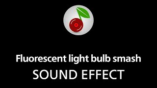 🎧 Fluorescent light bulb smash SOUND EFFECT