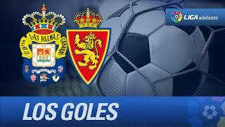 Todos los goles de UD Las Palmas (5-3) Real Zaragoza - HD