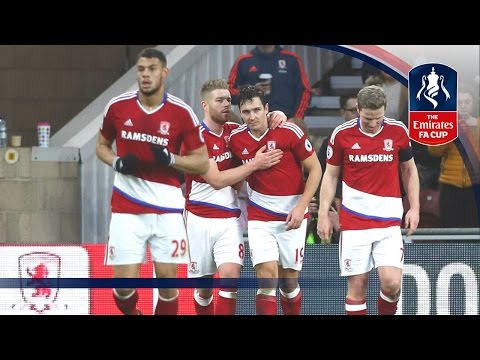 Middlesbrough 1-0 Accrington Stanley - Emirates FA Cup 2016/17 (R4) | Official Highlights