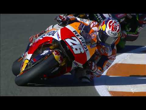 2017 #ValenciaGP - Honda in action