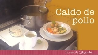 Caldo de pollo para la dieta - DIY chicken soup to lose weight