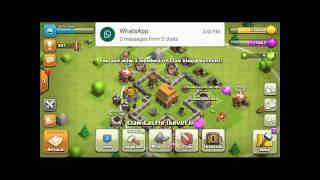 How to get reinforcement in Clash of Clan game?