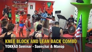 YOKKAO Seminar – Knee Block and Lean Back Combo