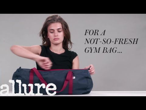 Beauty Hacks: Gym Bag Edition | Allure