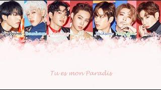 GOT7   Paradise (VOSTFR) Color coded lyrics