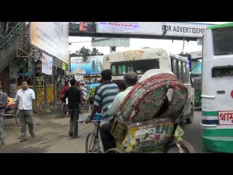 Bangladesh Traffic Jam Mirpur Dhaka Pt. 2