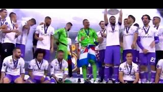 Real Madrid Lifting Champions League Trophy 2017 | We Are The Champions |