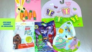 Jucării surpriză cu Singuri Acasă , Tsum Tsum , Eroii in Pijama și radiere de colecție