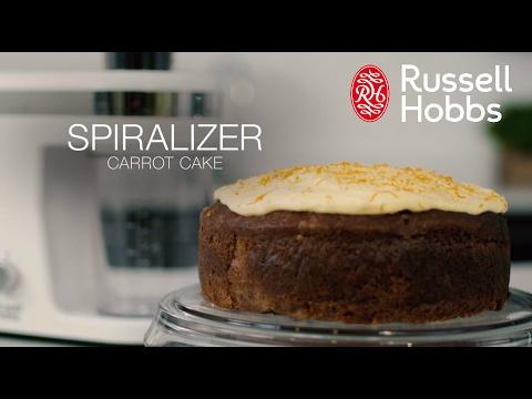 Hur man gör en morotskaka med Russell Hobbs Ultimate Spiralizer (kort)