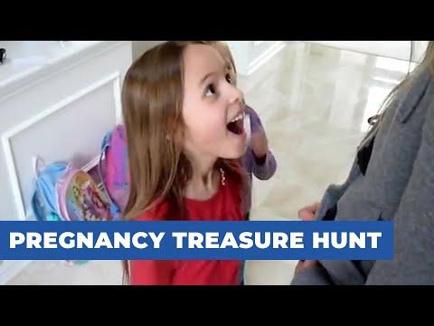 Pregnancy Treasure Hunt