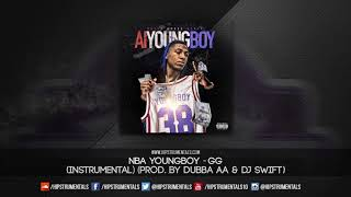 NBA YoungBoy - GG [Instrumental] (Prod. By Dubba AA & DJ Swift) + DL via @Hipstrumentals
