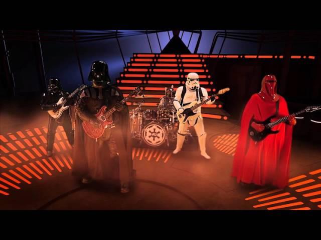 Videoclip de Galactic Empire tocando ''The Imperial March'' de Star Wars.