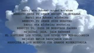 Tefilah en Alabanza Hebrea_La Amidah 18 bendiciones Baruj ata Adonai - YouTube.flv