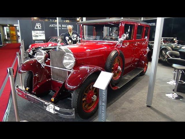 1926 Mercedes-Benz 12-55 Typ 300 - Exterior and Interior - Retro Classics Stuttgart 2018