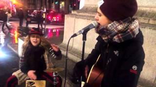 Thinking Out Loud Cover - Heidi Joubert on Cajon with Giulia Joni Marelli on Guitar
