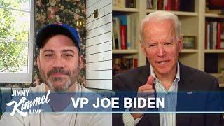 Jimmy Kimmel's Quarantine Minilogue –Vice President Joe Biden
