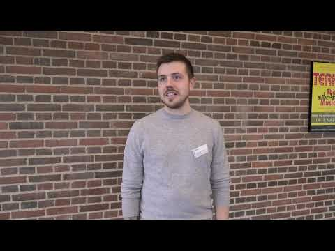Mathias Cramer, projektleder for projekt 'I mål med Integration'