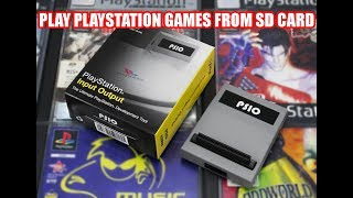 PS1 Mods To Run Games FROM SD Card!! PSIO