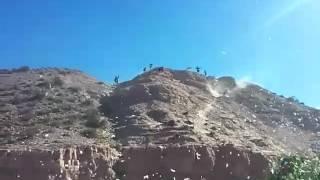 Bajada de los diablos 2017.  Uquia
