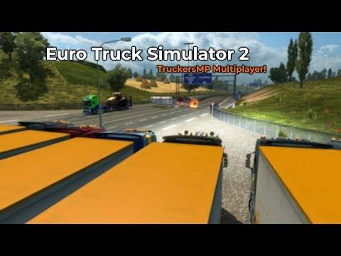 Euro Truck Simulator 2  TruckersMP Opname 08032018