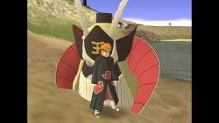 Naruto vs Nagato Gta san andreas parte 3