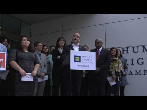 Civil Rights Leaders Join Together to Oppose Donald Trump's Anti LGBTQ Agenda