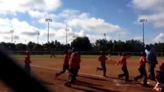 Home Run the My Son Manuel Beltre World Series Disney 9u 2014