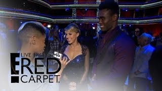"Jodie Sweetin & Keo Motsepe Talk ""Amazing"" ""DWTS"" Tango 