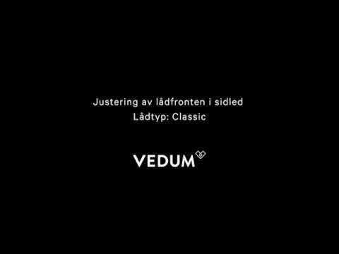Sidled lådfront (Classic)
