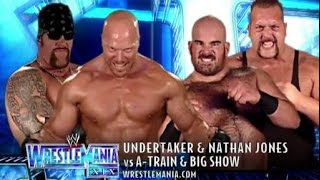 The Undertaker Vs The Big Show & A Train - Wrestlemania 19 | highlights