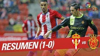 Resumen de Real Sporting vs RCD Mallorca (1-0)