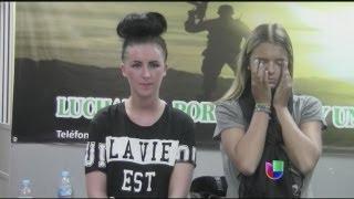 Extranjeras fueron obligadas a transportar droga en Lima - Noticiero Univisión
