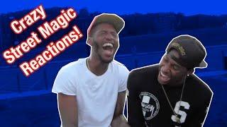 Crazy Street Magic Funny Reactions!