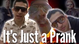 it's just a prank bro sound effect